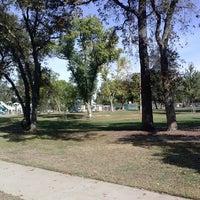 Photo taken at Carmichael Park by Alexandrea G. on 10/8/2013