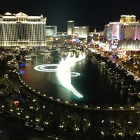 Photo taken at Fountains of Bellagio by Yousof S. on 1/12/2013