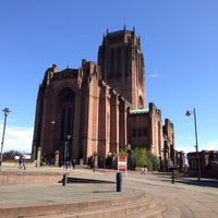 Photo taken at Liverpool Cathedral by Anton T. on 5/11/2013