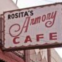 Photo taken at Rosita's Armory Cafe by Amber H. on 2/7/2013