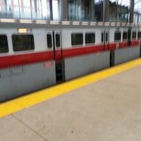 Photo taken at MBTA Ashmont/Peabody Square Station by Michael C. on 12/16/2012