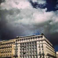 Photo taken at Hotel Grande Bretagne by Konstantinos M. on 3/15/2013