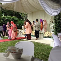 Photo taken at Sangkot The Garden Wedding Place by Muhammad K. on 11/9/2014