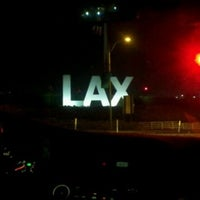Photo taken at LAX Sign by £hi™ A. on 3/29/2013