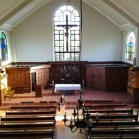 Photo taken at San Guillermo Parish Church by Anna O. on 3/24/2013