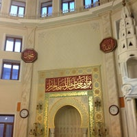 Photo taken at Akbaba Mehmet Efendi Camii by Bahaddin O. on 5/1/2013