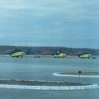 Photo taken at Khanty-Mansiysk International Airport (HMA) by Александра К. on 5/14/2013