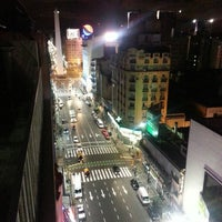 Photo taken at Avenida Corrientes by Marcelo A. on 2/20/2013
