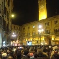 Photo taken at Piazza dei Signori by Ezio P. on 2/8/2013