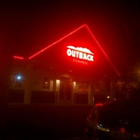 Photo taken at Outback Steakhouse by Allen M. on 12/14/2012