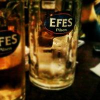 Photo taken at Efes Garden Pub by Umut K. on 1/21/2013