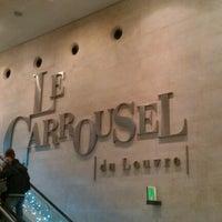 Photo taken at Carrousel du Louvre by Paul K. on 1/4/2013