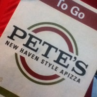 Photo taken at Pete's New Haven Style Pizza by Le-Marie v. on 1/16/2013