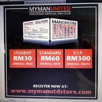 Photo taken at MyManUNITED Clubhouse by Azuan S. on 7/1/2014