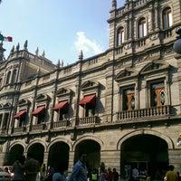 Photo taken at Los Portales de Puebla by Silvana C. on 3/30/2013