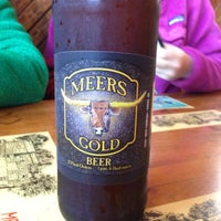 Photo taken at Meers Store & Restaurant by Sonny W. on 4/11/2013