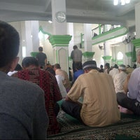 Photo taken at Masjid Jami Al-Ghoni by Dandun W. on 8/1/2014
