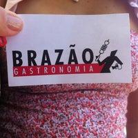 Photo taken at Brazão Churrascaria by Natália D. on 12/4/2012