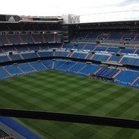 Photo taken at Santiago Bernabéu Stadium by Кирилл Г. on 4/27/2013