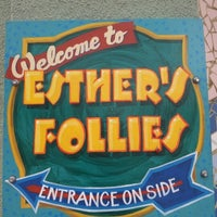 Photo taken at Esther's Follies by MarqyDeTv on 1/3/2013