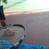 Photo taken at Văn Thánh Tennis Court by Son P. on 3/31/2013