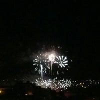 Photo taken at Plaza De La Paz by Verbal K. on 9/20/2012