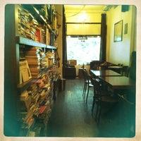 Photo taken at Tezgah Kitapevi Cafe Bar by Ayşe K. on 2/5/2013