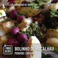 Photo taken at Bolinho De Bacalhau by Omar P. on 2/2/2013