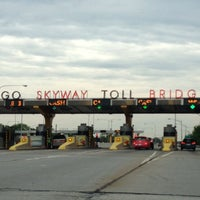 Photo taken at Chicago Skyway by Jenn C. on 6/15/2013