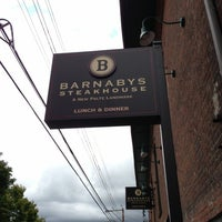 Photo taken at Barnaby's Steakhouse by Frank  V. on 9/29/2012