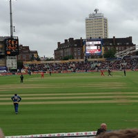 Photo taken at The Kia Oval by Greg D. on 6/13/2013