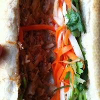 Photo taken at Kim Saigon Sandwiches by Laurent P. on 12/18/2012