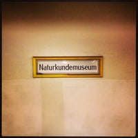 Photo taken at U Naturkundemuseum by Marc G. on 11/25/2013