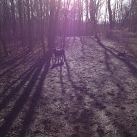 Photo taken at Warnimont Dog Park by Rebecca M. on 1/12/2013