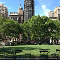 Photo taken at Bryant Park by Alan C. on 6/8/2013