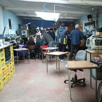 Photo taken at Hackerspace Brussels @hsbxl by Benoit L. on 9/22/2012