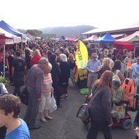 Photo taken at Dunedin Saturday Farmer's Market by Augusta G. on 3/21/2014