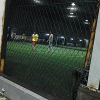 Photo taken at Dynasty Futsal & Cafe by Metta Q. on 12/26/2012
