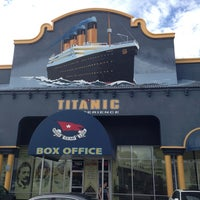 Photo taken at Titanic The Artifact Exhibition by Yufei X. on 1/6/2013