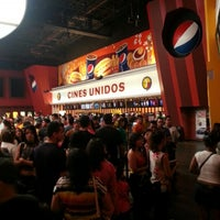 Photo taken at Cines Unidos by Oscar H. on 12/9/2012
