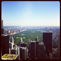 Photo taken at Top of The Rock Observation Deck by Maxim F. on 6/20/2013