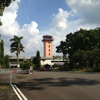 Photo taken at Halim Perdana Kusuma International Airport (HLP) by Eko H. on 3/18/2013