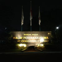 Photo taken at Halim Perdana Kusuma International Airport (HLP) by Eko H. on 3/22/2013