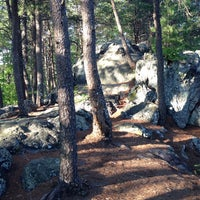 Photo taken at Crowders Mountain State Park by Kate C. on 5/3/2014