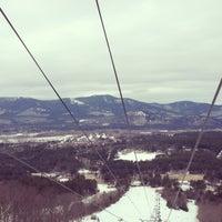 Photo taken at Cranmore Mountain Resort by Melanie🌀 K. on 3/13/2013