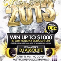 Photo taken at Uptown Lounge by DJ Absolute on 1/1/2013