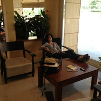 Photo taken at Hotel Capannelle by Monica G. on 7/5/2013