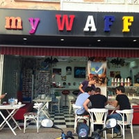 Photo taken at My Waffle Plus by Gökçe C. on 6/6/2013