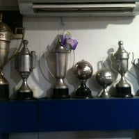 Photo taken at The Original Viking Persib Fanshop by Evan E. on 1/13/2013