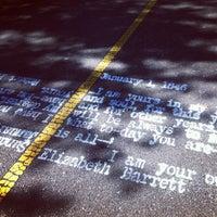Photo taken at Grove-Cedar Bike Path by Georgy C. on 9/23/2012